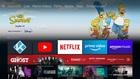 Startbildschirm von Amazon Fire TV mit KODI