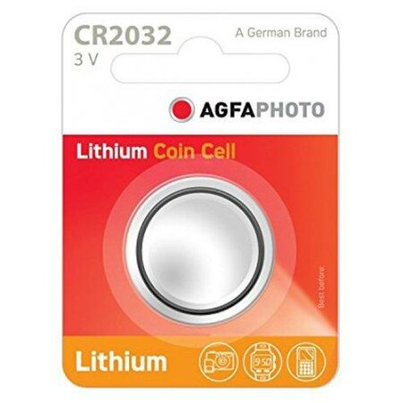 AgfaPhoto CR2032 Knopfzelle, Lithium, 3V