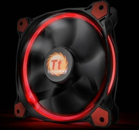 Thermaltake Riing 14 LED rot, 140mm