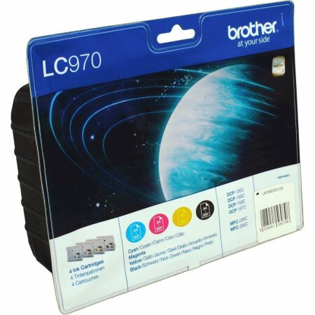 Brother LC-970VALBPDR Value-Pack