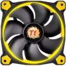 Thermaltake Riing 12 LED gelb, 120mm