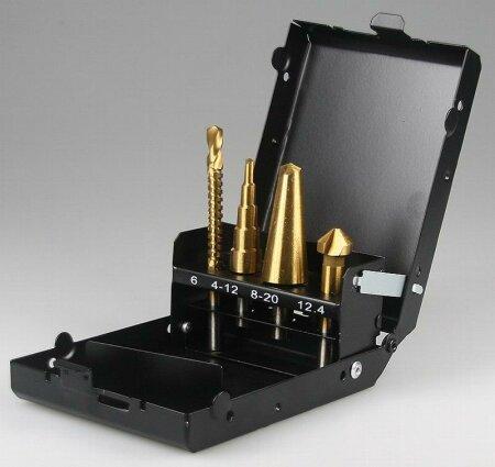 spezialbohrer set 4 teilig kegelsenker 19 95. Black Bedroom Furniture Sets. Home Design Ideas