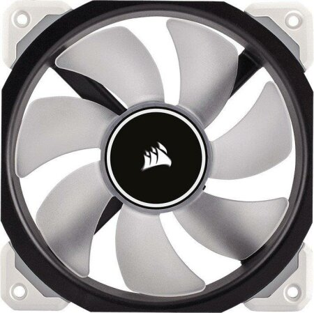 Corsair ML Series ML120 PRO LED White Premium Magnetic Levitation Fan