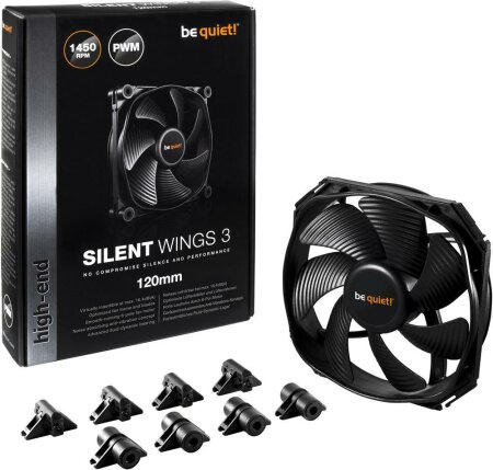be quiet! Silent Wings 3 PWM, 120mm