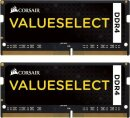 DDR4-2133 16GB Corsair ValueSelect SO-DIMM (2x8GB)