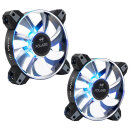IN WIN Polaris RGB Aluminium, 2er-Pack, 120mm