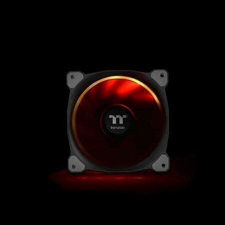 Thermaltake Riing Plus 12 LED RGB TT Premium Edition, 120mm, 5er-Pack