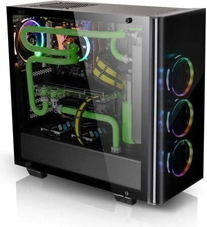 Thermaltake View 21 TG, Glasfenster