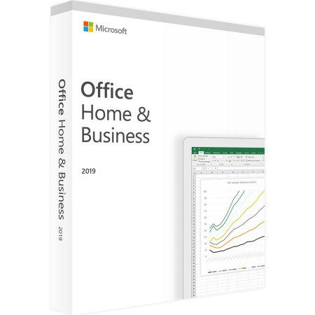 Microsoft Office 2019 Home and Business, PKC (deutsch) (PC/MAC)