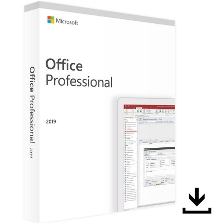 Microsoft Office 2019 Professional, ESD (multilingual) (PC)
