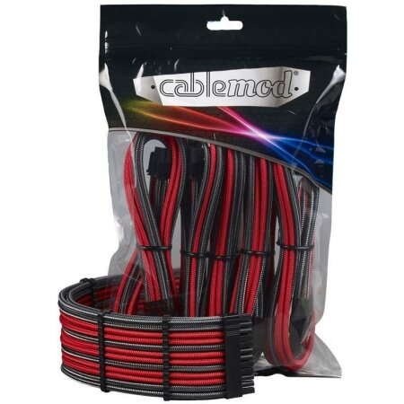 CableMod PRO ModMesh Cable Extension Kit, carbon/rot