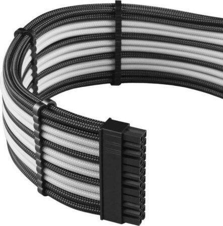 CableMod PRO ModMesh Cable Extension Kit, schwarz/weiß