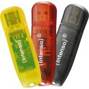 Intenso Rainbow Line 16GB, USB 2.0 3er Pack