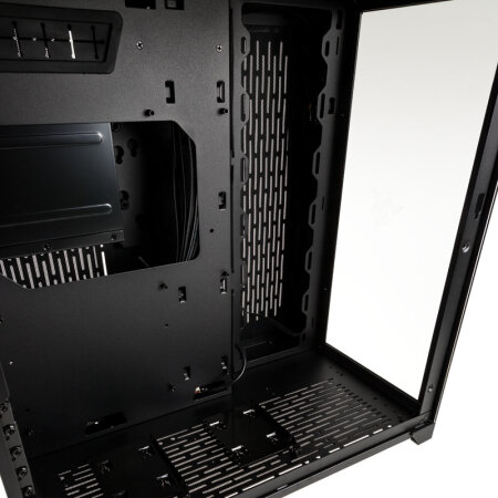 Lian Li PC-O11 Dynamic Razer Edition, Glasfenster