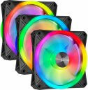 Corsair iCUE QL120 RGB PWM Triple Fan Kit with Lighting...