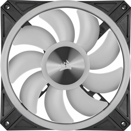 Corsair iCUE QL140 RGB PWM Dual Fan Kit with Lighting Node CORE, 140mm, 2er-Pack, LED-Steuerung