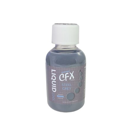 Liquid.cool CFX Konzentrat Opaque Performance, 150ml, Steel Grey